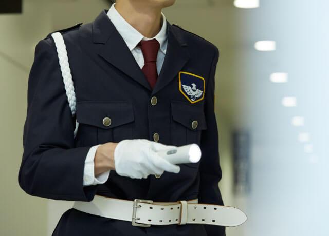 警察・警備会社の検証用記録